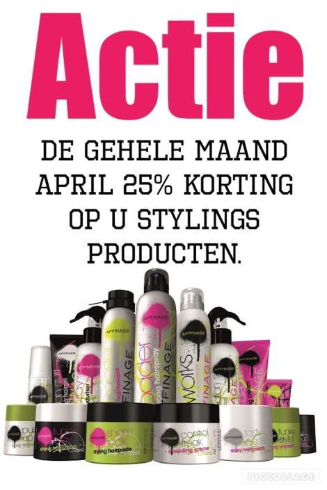 Styling producten Actie - Kapsalon Koot | Grou