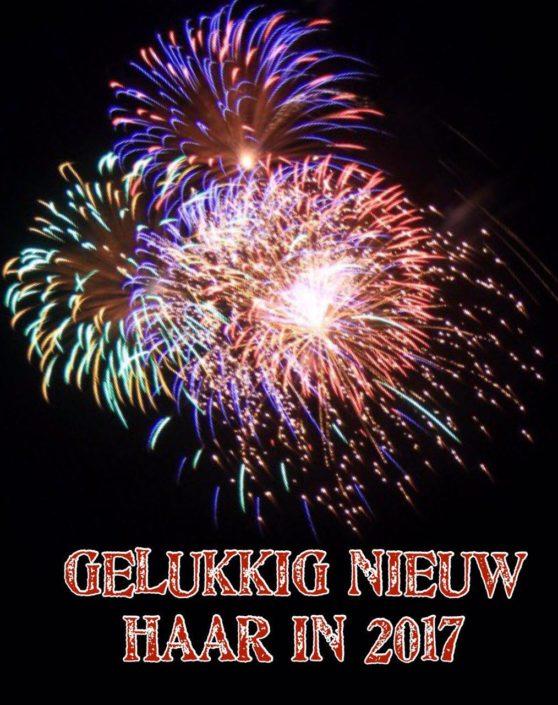 Kapsalon Grou Gelukkig Nieuw Jaar